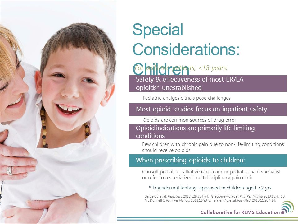 Special Considerations: Children