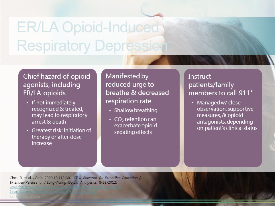 ER/LA Opioid-Induced Respiratory Depression