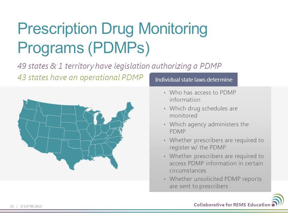 Prescription Drug Monitoring Programs (PDMPs)