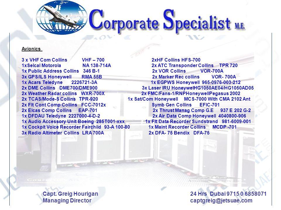 24 Hrs Dubai 9715 0 6858071 captgreig@jetsuae.com
