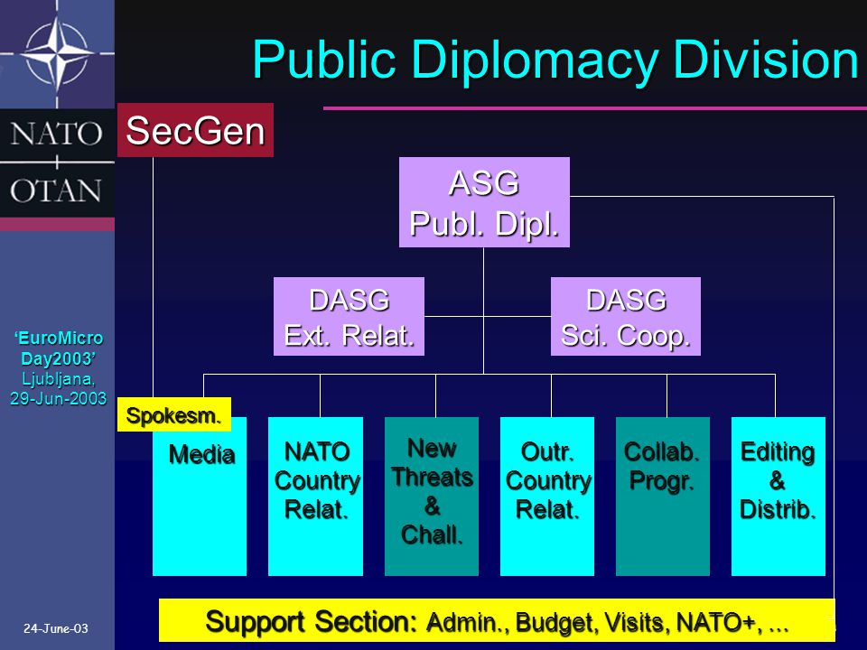 Public Diplomacy Division