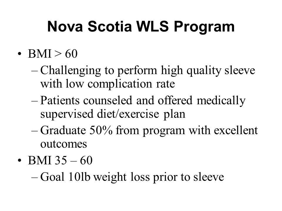 Nova Scotia WLS Program