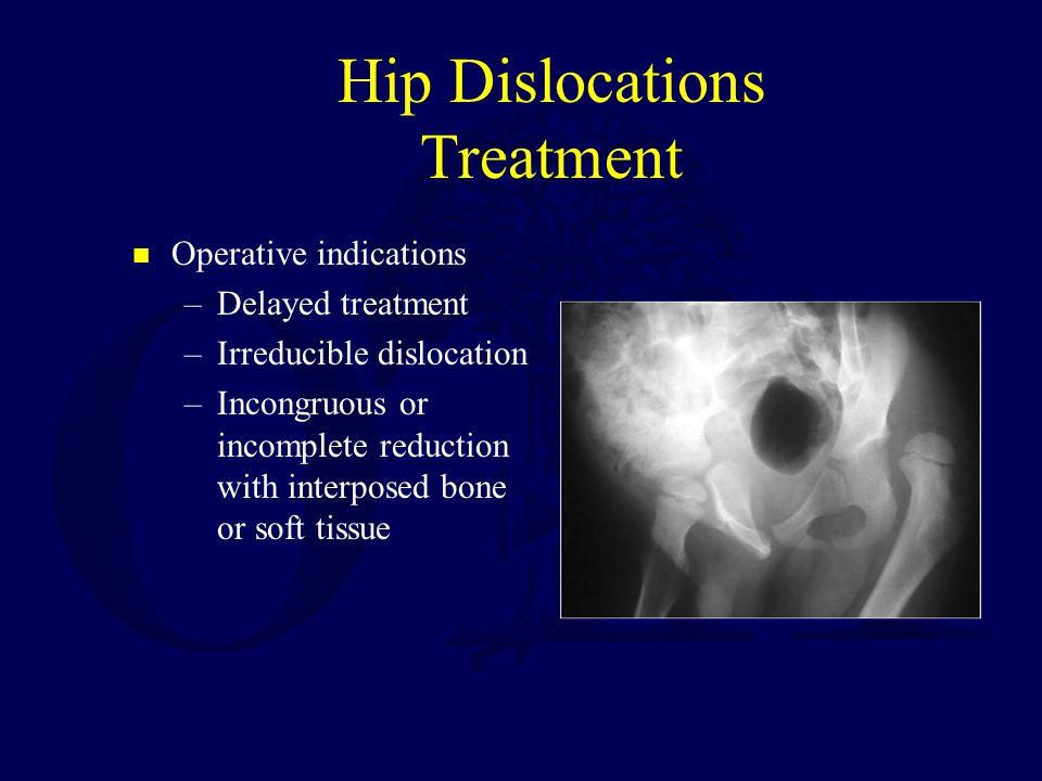 Hip Dislocations Treatment