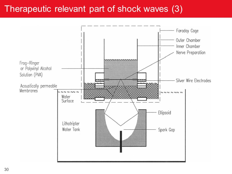 Therapeutic relevant part of shock waves (3)