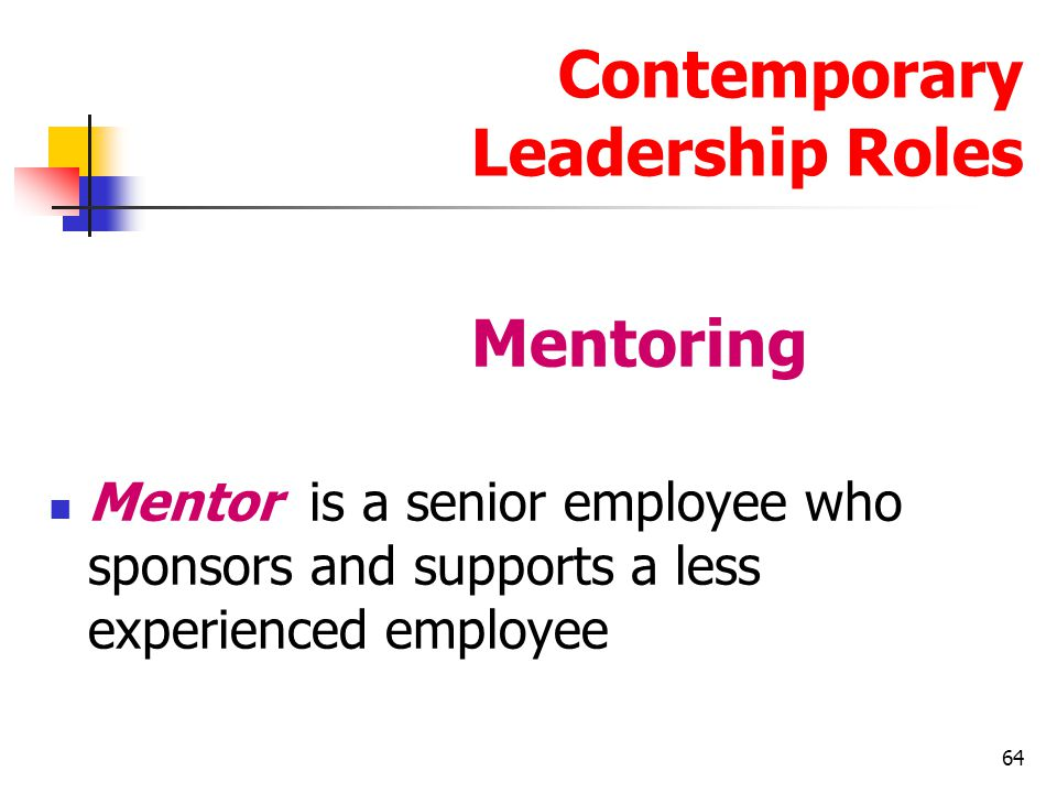 Contemporary Leadership Roles