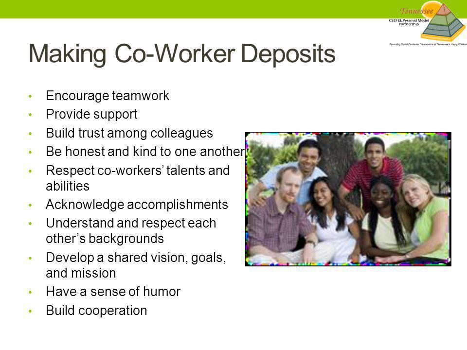 Making Co-Worker Deposits