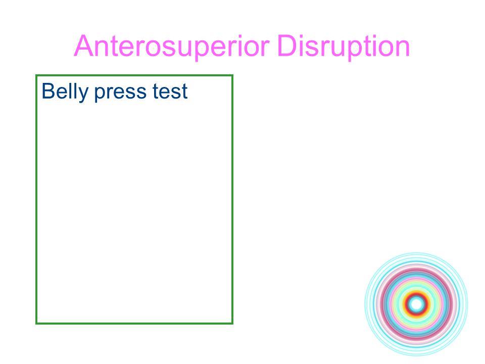 Anterosuperior Disruption