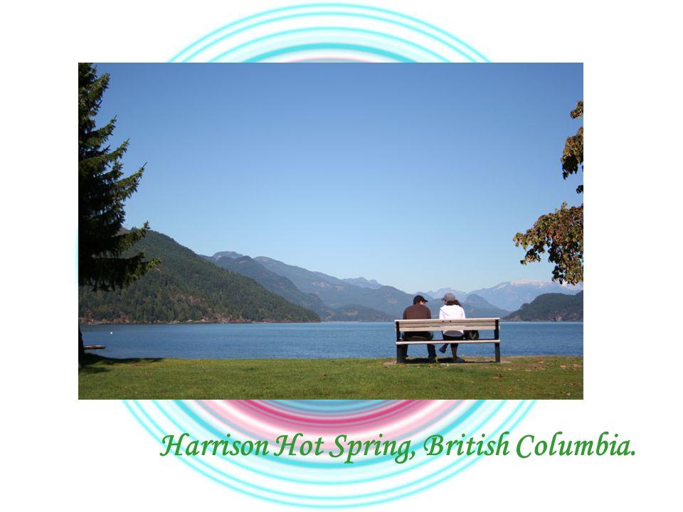 Harrison Hot Spring, British Columbia.