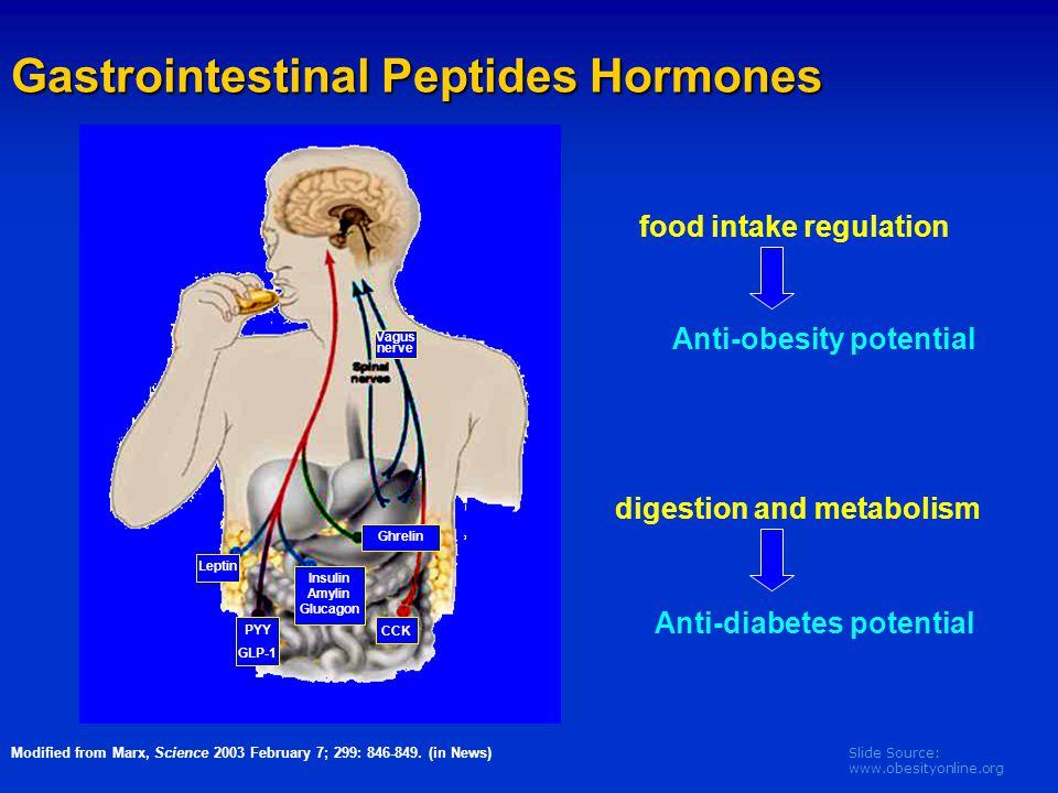 Gastrointestinal Peptides Hormones