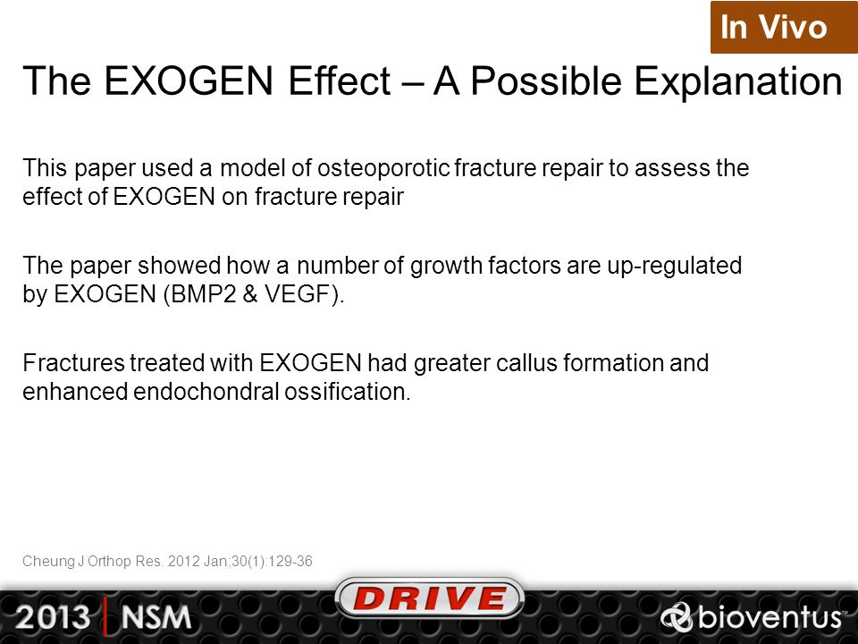 The EXOGEN Effect – A Possible Explanation