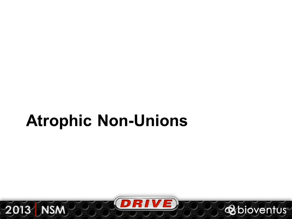 Atrophic Non-Unions