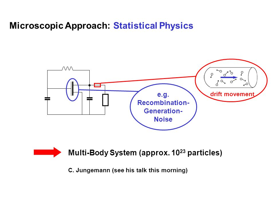 Microscopic Approach: Statistical Physics