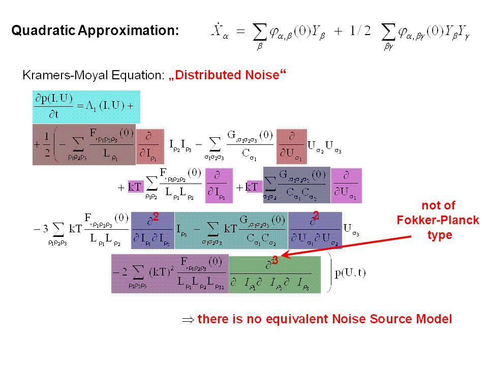 Quadratic Approximation: