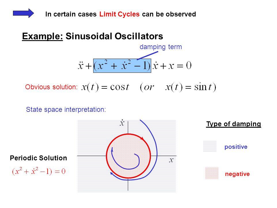 Example: Sinusoidal Oscillators