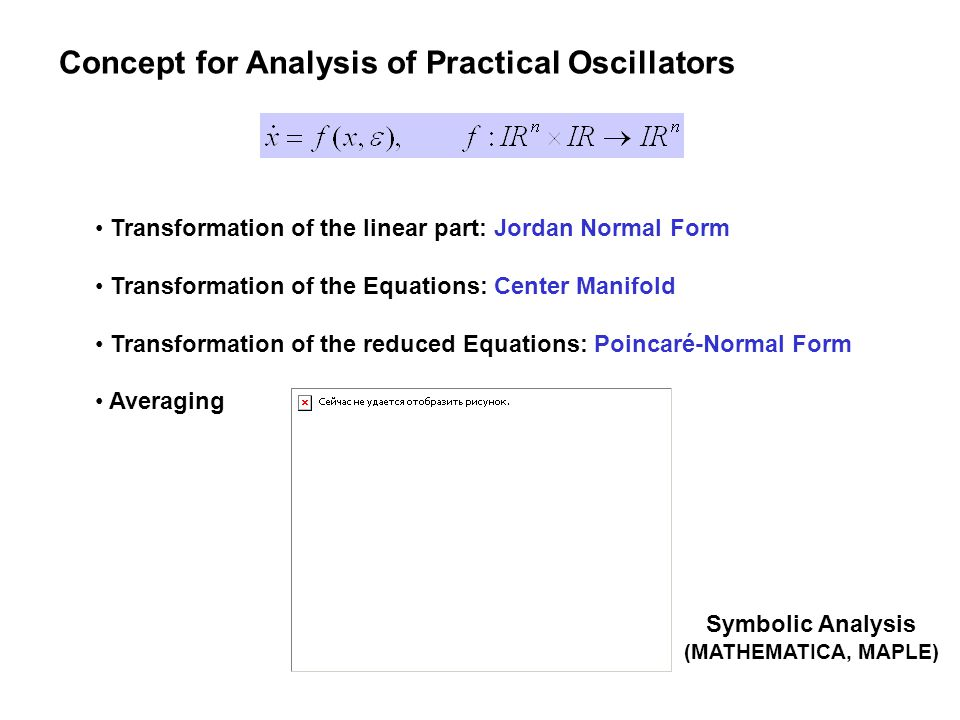 Concept for Analysis of Practical Oscillators