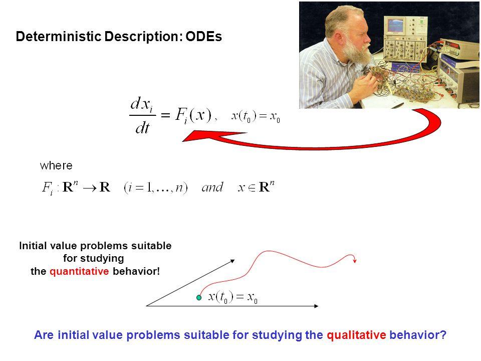 Initial value problems suitable the quantitative behavior!