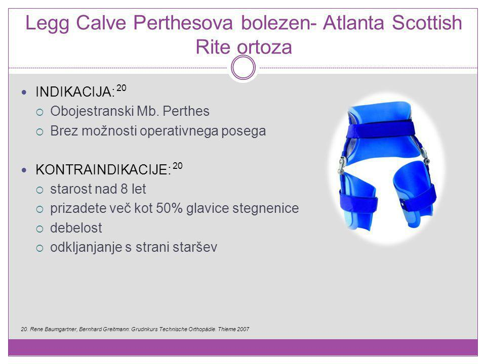 Legg Calve Perthesova bolezen- Atlanta Scottish Rite ortoza