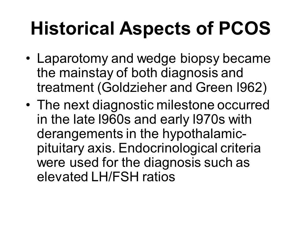 Historical Aspects of PCOS