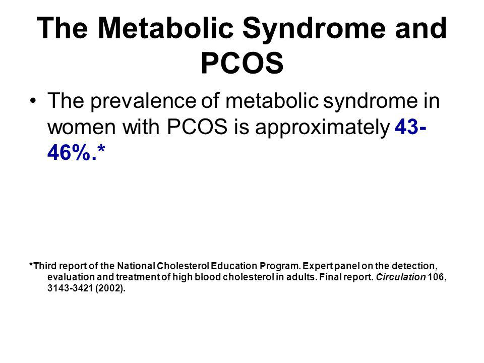 The Metabolic Syndrome and PCOS