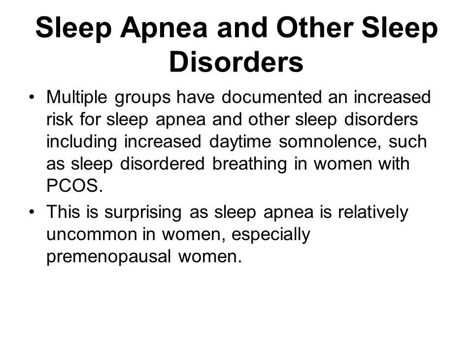 Sleep Apnea and Other Sleep Disorders