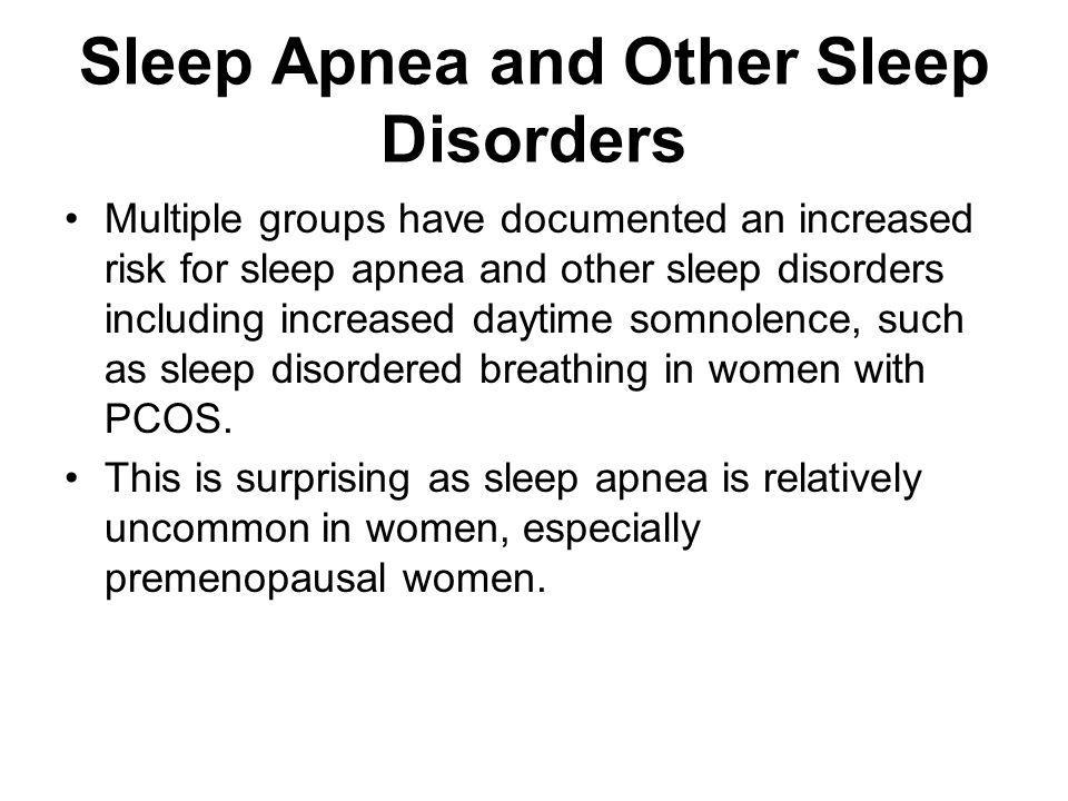 Sleep Apnea and Other Sleep Disorders