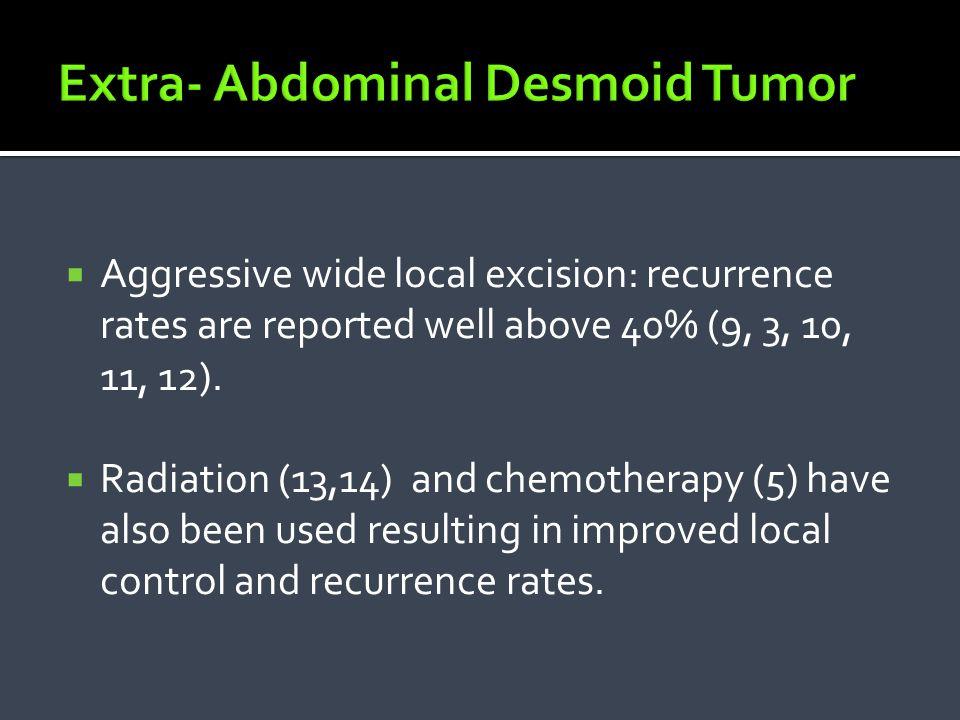 Extra- Abdominal Desmoid Tumor