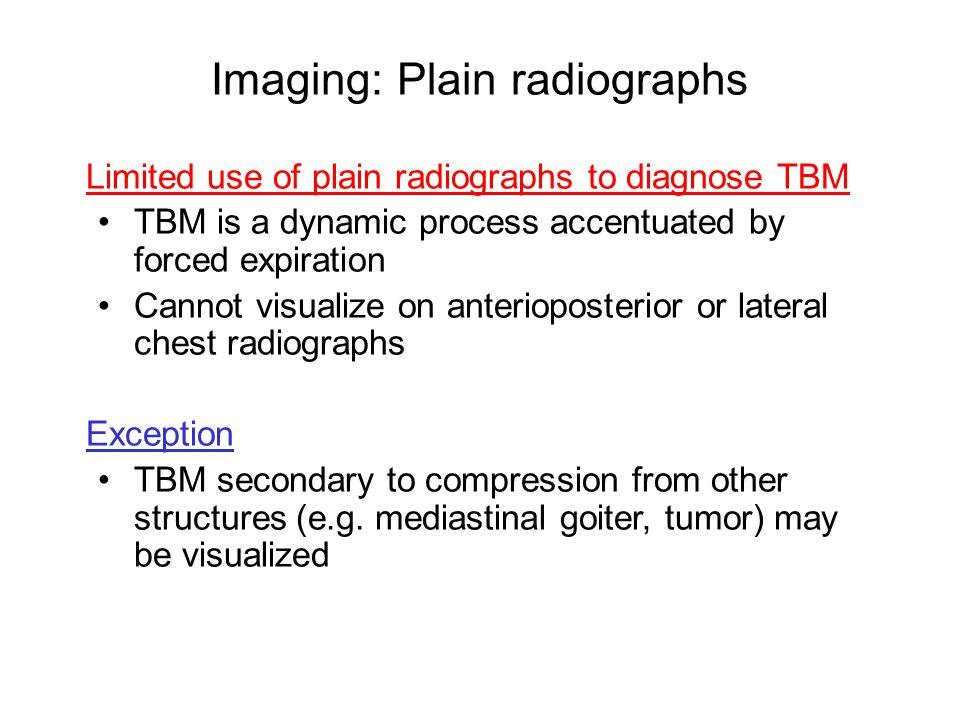 Imaging: Plain radiographs
