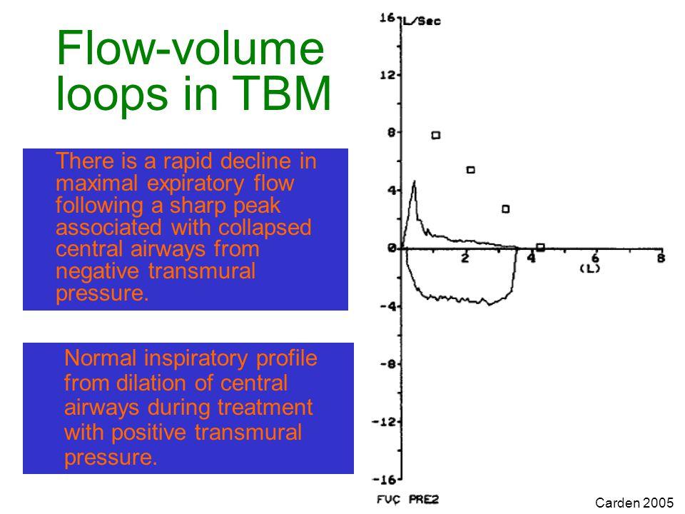 Flow-volume loops in TBM