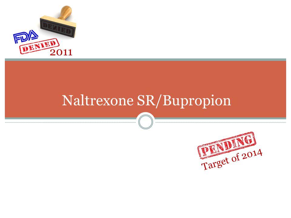 Naltrexone SR/Bupropion
