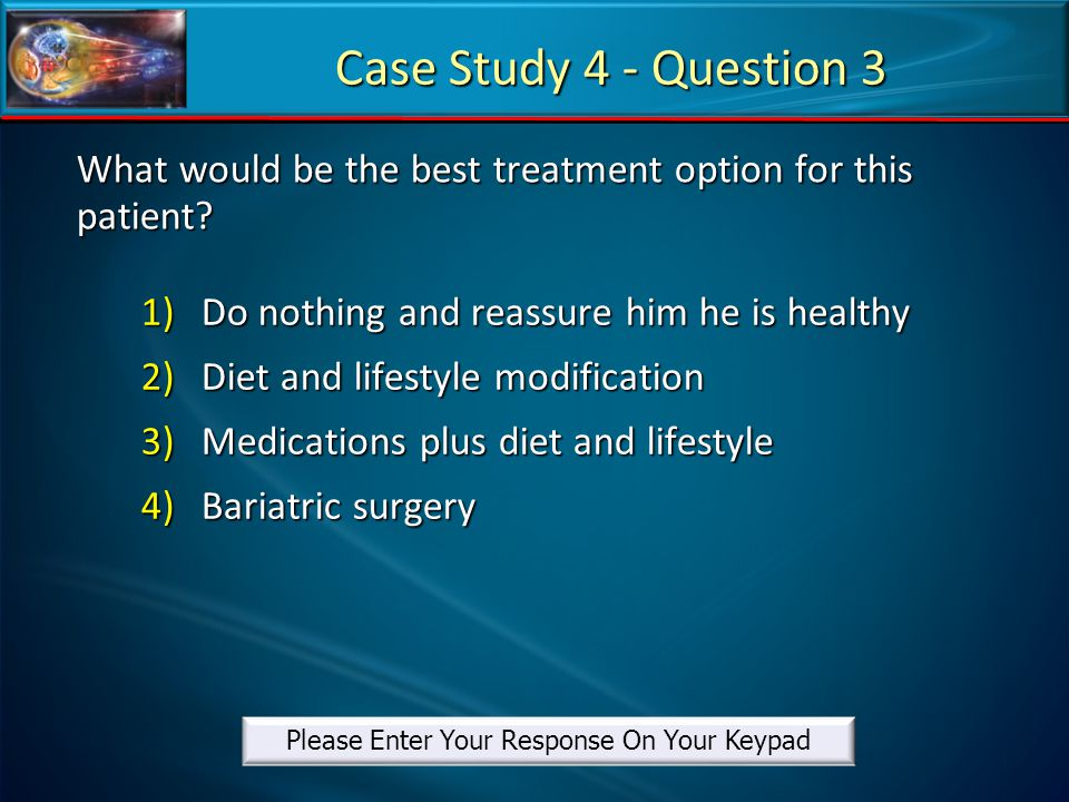 What would be the best treatment option for this patient