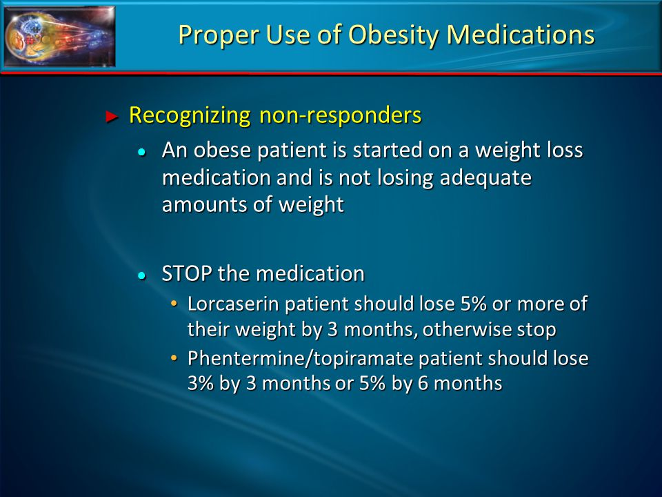 Proper Use of Obesity Medications