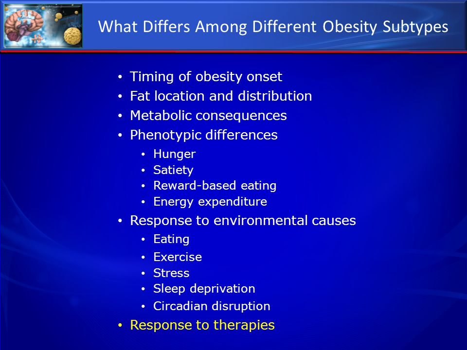 What Differs Among Different Obesity Subtypes