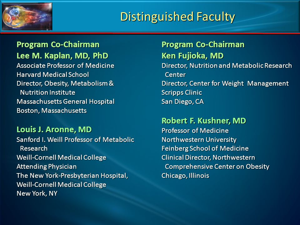 Distinguished Faculty
