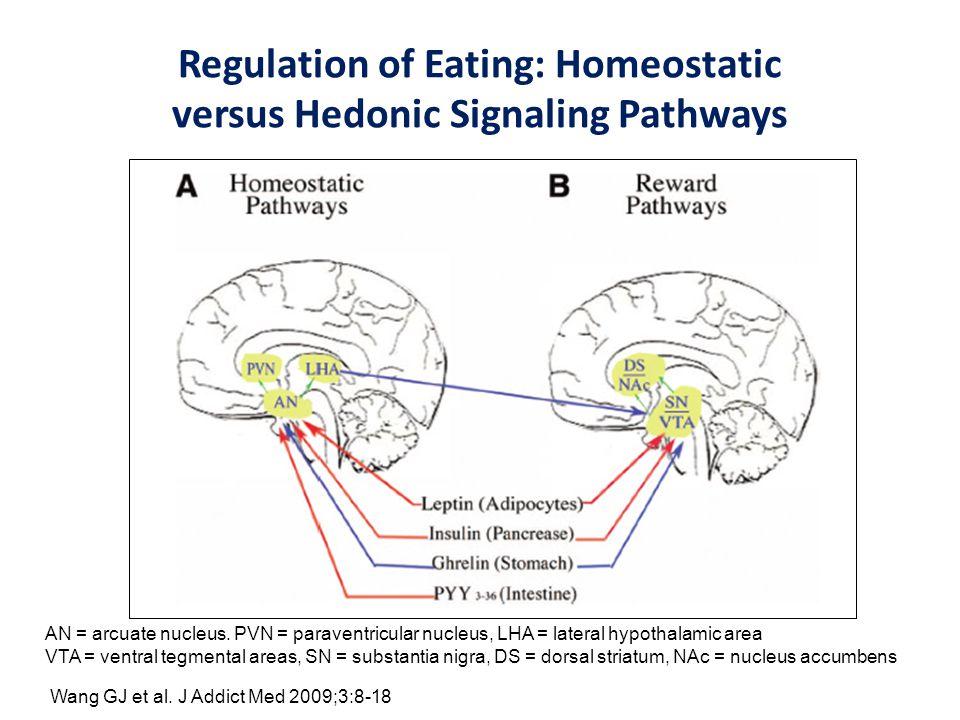 Regulation of Eating: Homeostatic versus Hedonic Signaling Pathways