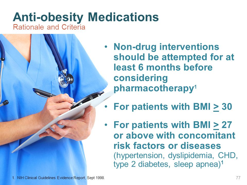 Anti-obesity Medications Rationale and Criteria