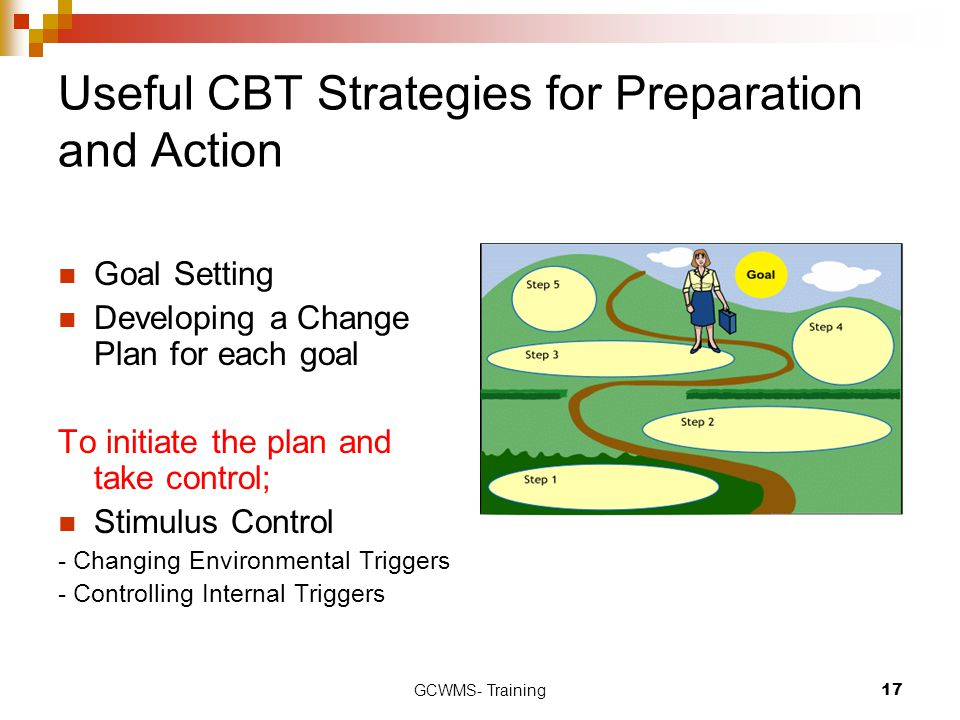 Useful CBT Strategies for Preparation and Action
