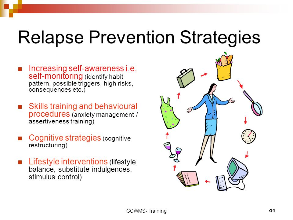 Relapse Prevention Strategies
