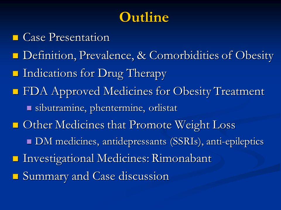 Outline Case Presentation
