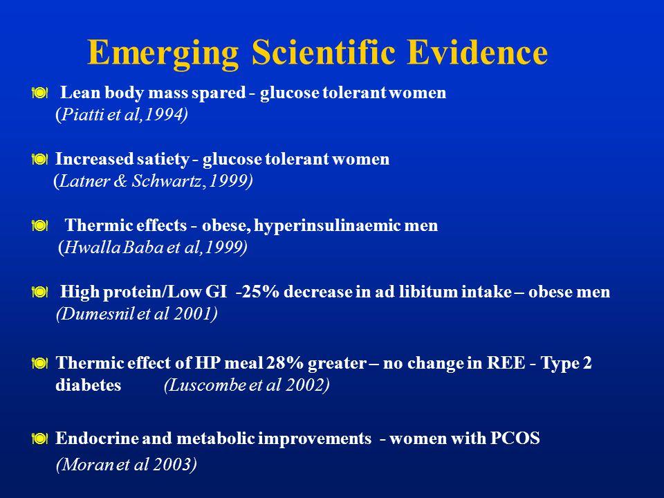 Emerging Scientific Evidence