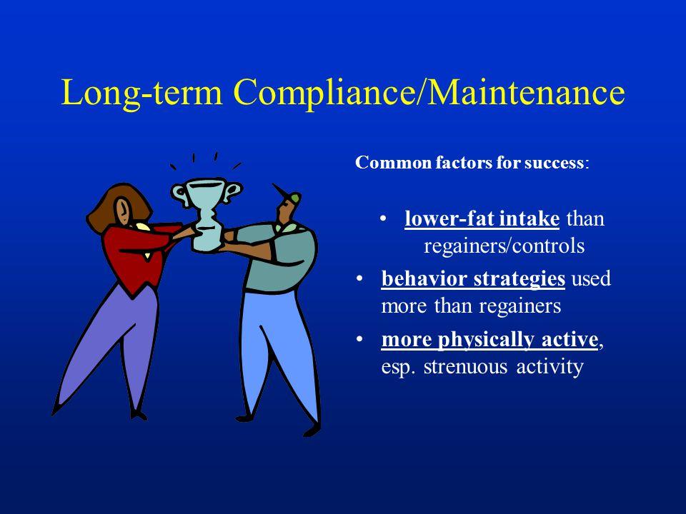 Long-term Compliance/Maintenance