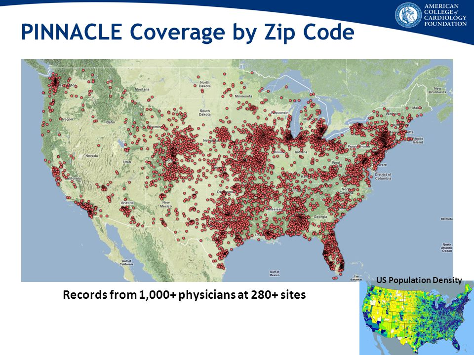 PINNACLE Coverage by Zip Code