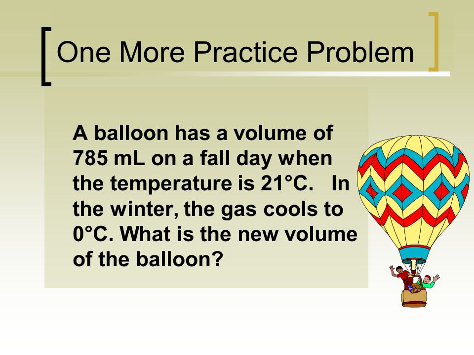 One More Practice Problem
