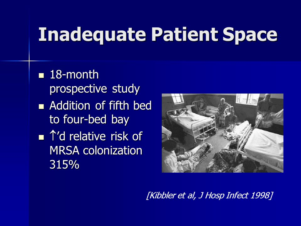 Inadequate Patient Space