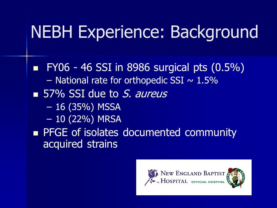 NEBH Experience: Background