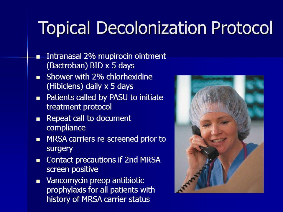 Topical Decolonization Protocol