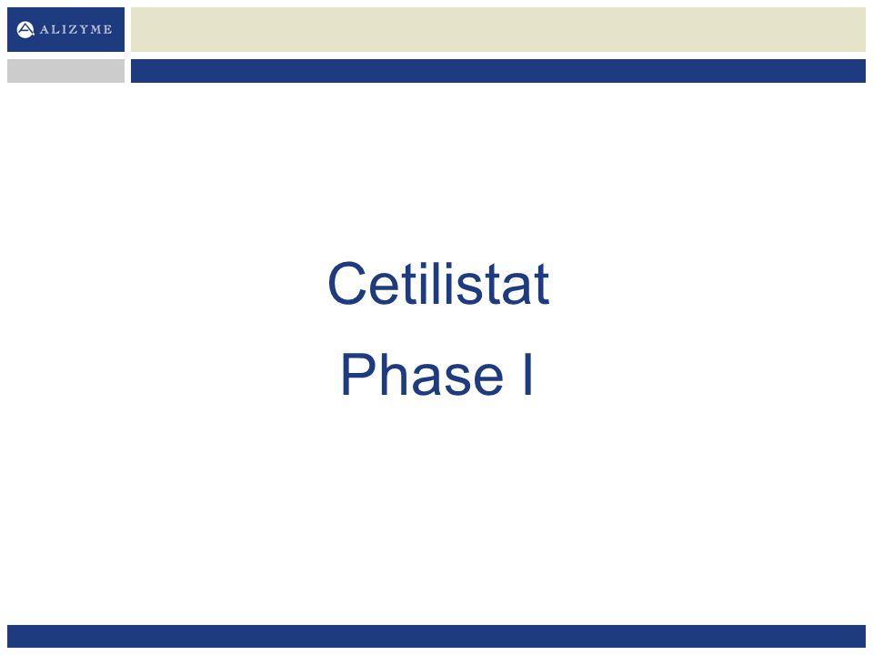 Cetilistat Phase I