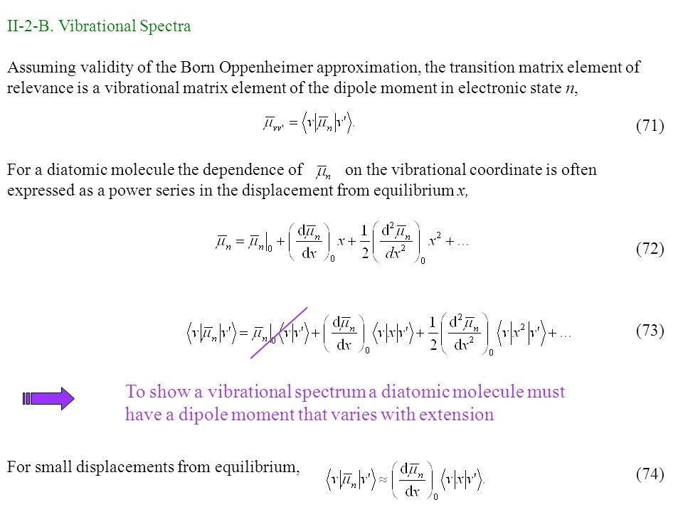 II-2-B. Vibrational Spectra