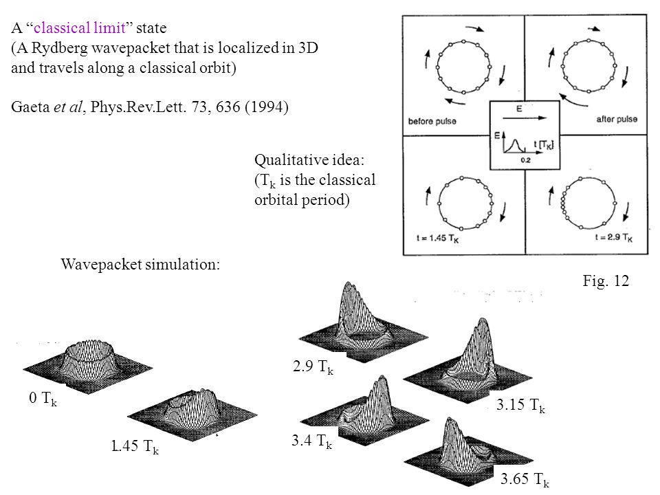 A classical limit state