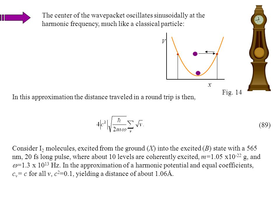 In this approximation the distance traveled in a round trip is then,
