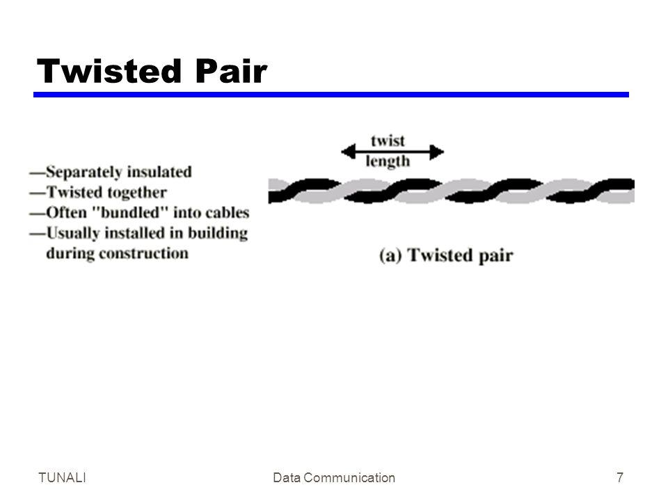 Twisted Pair TUNALI Data Communication